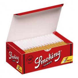 100 tubos de fumar