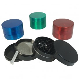 Grinder Polinator Alu Color 4 parties