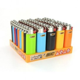 50 Mini Bic lighters