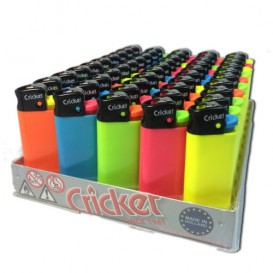 50 encendedores Cricket Mini