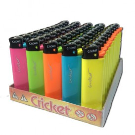 50 Cricket Maxi lighters