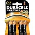 4 Piles Duracell Simply AA LR06