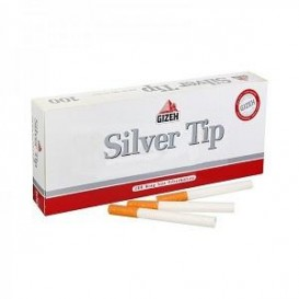100 Tubes Gizeh Silver Tip