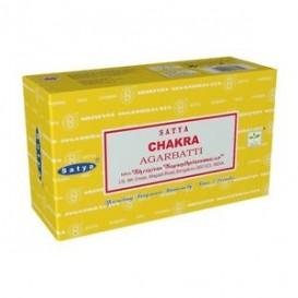 12 x incenso Satya Chakra Sette 15g