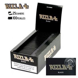 25 pacotes Rizla Preto