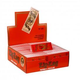 100 x Paquets Zig Zag Orange n°125