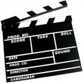 Clap Cinema 30cm x 26cm