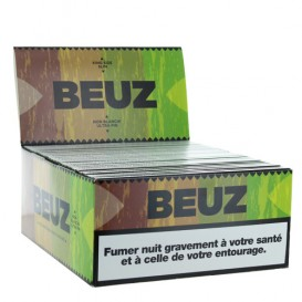 50 Paquets Feuilles Beuz Slim Brown