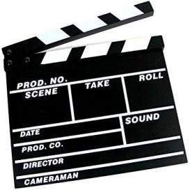 Clap Cinema 20 x 18cm (S)