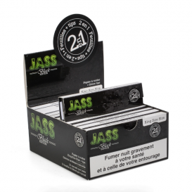 24 Paquets Jass Slim + Tips (2en1)