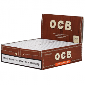 Box 50 Virgin Double OCB Packs