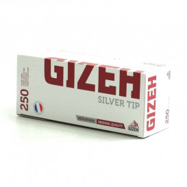 250 Tube Gizeh Silver Tip