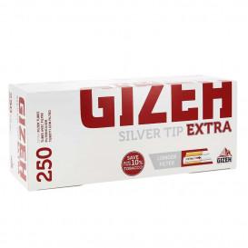 250 tubos extra de punta de plata Gizeh