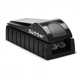 Sloow double cigarette tubing machine