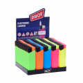 50 Electronic Lighters Prof Rubber Touch