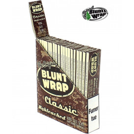 25 Paquets Blunt Wrap brown