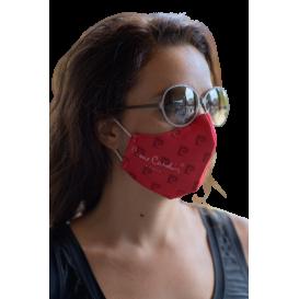 Maschera in tessuto Pierre Cardin