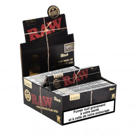 50 Paquets RAW Black Slim