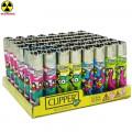 Box 48 Lighters Clipper Radioactif Animals