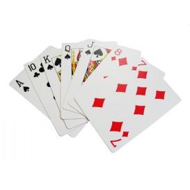 Tarjeta de juego de póquer